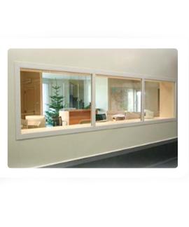 PVC - Dubbel vast raam (KRD)