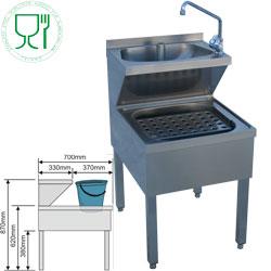 Matériel neuf - Mobilier inox - hygiène - Diamond - LMC-57