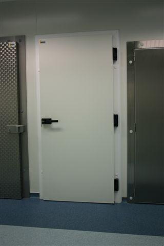 Portes (deuxième choix) - Portes pivotantes chambre froide à cadre fixe - Isobar - FDE 0920 x 1800 R