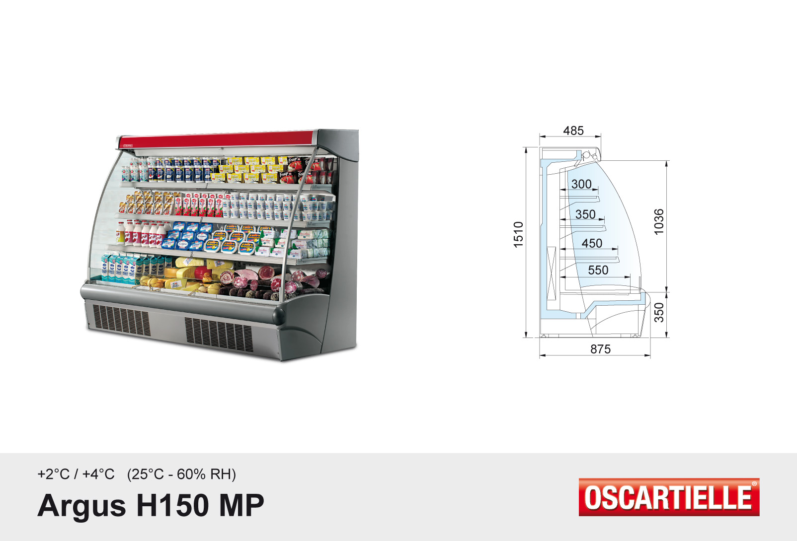 Argus H150 met ingebouwde koelgroep